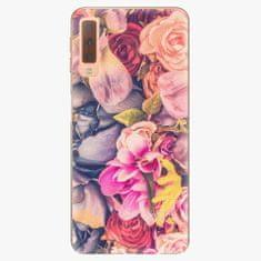 iSaprio Plastový kryt - Beauty Flowers - Samsung Galaxy A7 (2018)