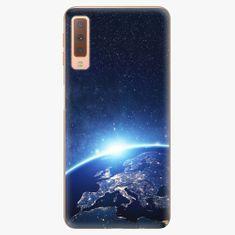 iSaprio Plastový kryt - Earth at Night - Samsung Galaxy A7 (2018)