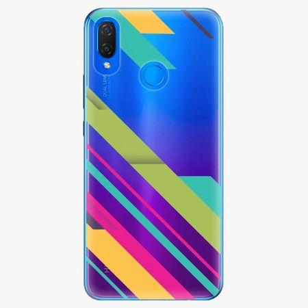 iSaprio Silikonové pouzdro - Color Stripes 03 - Huawei Nova 3i