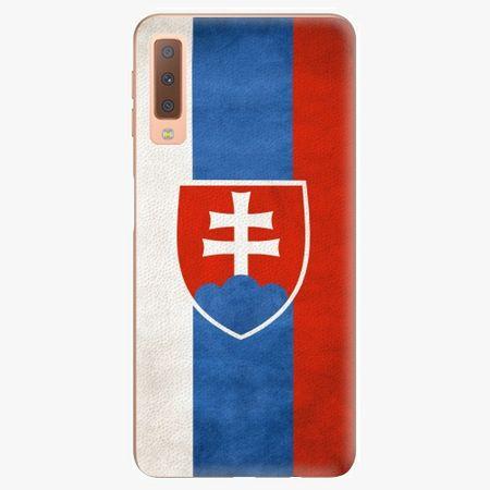 iSaprio Plastový kryt - Slovakia Flag - Samsung Galaxy A7 (2018)