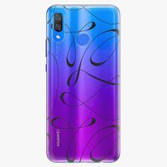 iSaprio Plastový kryt - Fancy - black - Huawei Y9 2019