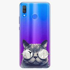iSaprio Plastový kryt - Crazy Cat 01 - Huawei Y9 2019