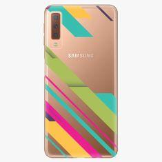 iSaprio Plastový kryt - Color Stripes 03 - Samsung Galaxy A7 (2018)