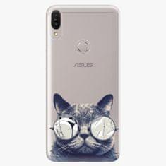 iSaprio Plastový kryt - Crazy Cat 01 - Asus Zenfone Max Pro ZB602KL