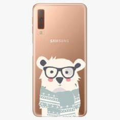 iSaprio Plastový kryt - Bear with Scarf - Samsung Galaxy A7 (2018)