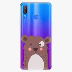 iSaprio Plastový kryt - Brown Bear - Huawei Y9 2019