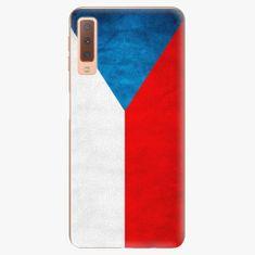 iSaprio Plastový kryt - Czech Flag - Samsung Galaxy A7 (2018)