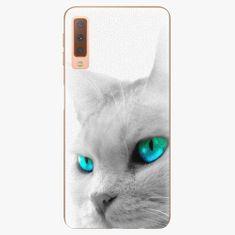 iSaprio Plastový kryt - Cats Eyes - Samsung Galaxy A7 (2018)