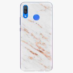 iSaprio Plastový kryt - Rose Gold Marble - Huawei Y9 2019