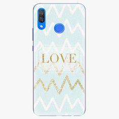 iSaprio Plastový kryt - GoldLove - Huawei Y9 2019