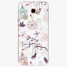 iSaprio Plastový kryt - Birds - Samsung Galaxy J4+
