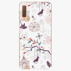 iSaprio Plastový kryt - Birds - Samsung Galaxy A7 (2018)