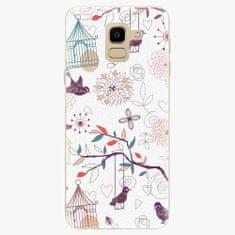 iSaprio Plastový kryt - Birds - Samsung Galaxy J6