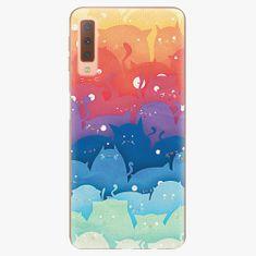 iSaprio Plastový kryt - Cats World - Samsung Galaxy A7 (2018)