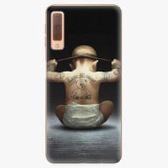 iSaprio Plastový kryt - Crazy Baby - Samsung Galaxy A7 (2018)