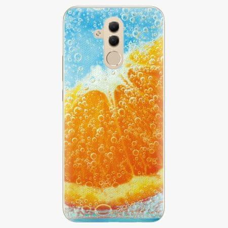 iSaprio Silikonové pouzdro - Orange Water - Huawei Mate 20 Lite