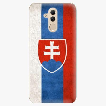 iSaprio Plastový kryt - Slovakia Flag - Huawei Mate 20 Lite