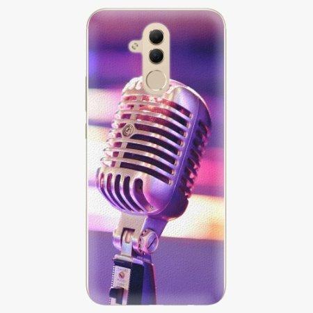 iSaprio Plastový kryt - Vintage Microphone - Huawei Mate 20 Lite