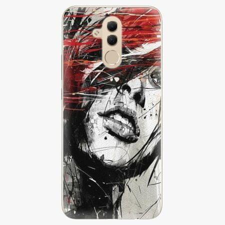 iSaprio Silikonové pouzdro - Sketch Face - Huawei Mate 20 Lite