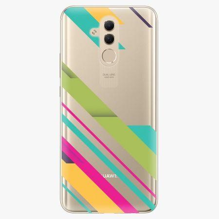 iSaprio Silikonové pouzdro - Color Stripes 03 - Huawei Mate 20 Lite