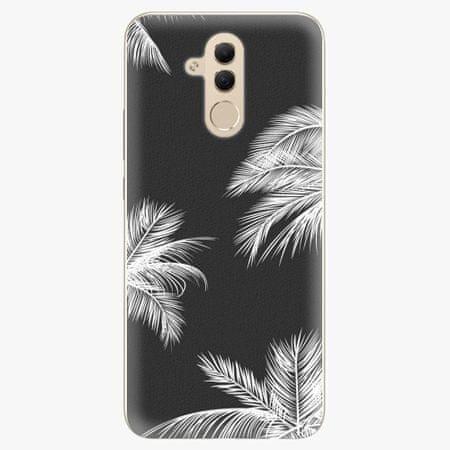 iSaprio Silikonové pouzdro - White Palm - Huawei Mate 20 Lite