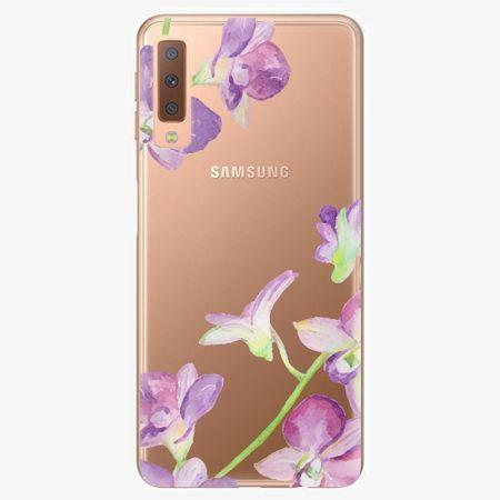 iSaprio Plastový kryt - Purple Orchid - Samsung Galaxy A7 (2018)