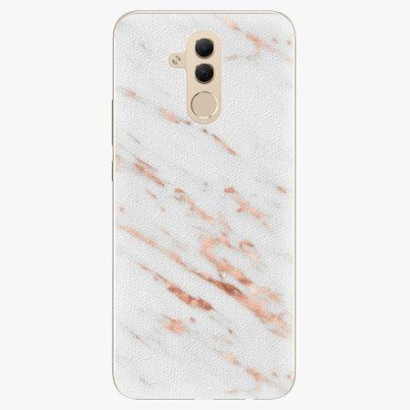 iSaprio Silikonové pouzdro - Rose Gold Marble - Huawei Mate 20 Lite