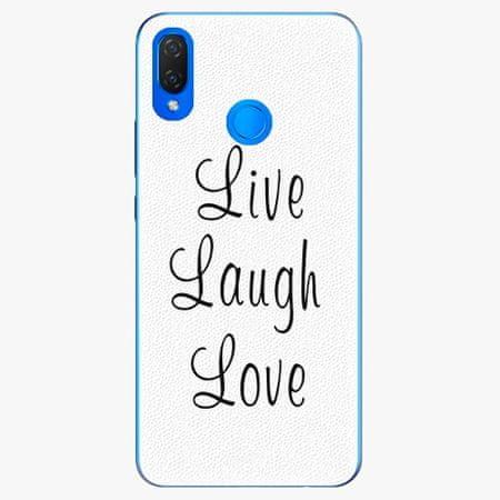 iSaprio Silikonové pouzdro - Live Laugh Love - Huawei Nova 3i