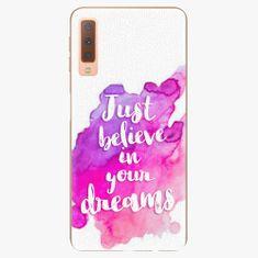 iSaprio Plastový kryt - Believe - Samsung Galaxy A7 (2018)