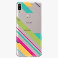 iSaprio Plastový kryt - Color Stripes 03 - Asus Zenfone Max Pro ZB602KL