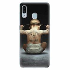 iSaprio Plastový kryt - Crazy Baby - Samsung Galaxy A30