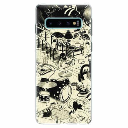 iSaprio Plastový kryt - Underground - Samsung Galaxy S10