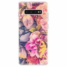 iSaprio Plastový kryt - Beauty Flowers - Samsung Galaxy S10+