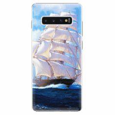iSaprio Plastový kryt - Sailing Boat - Samsung Galaxy S10+