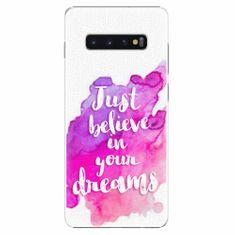 iSaprio Plastový kryt - Believe - Samsung Galaxy S10+