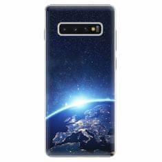 iSaprio Plastový kryt - Earth at Night - Samsung Galaxy S10+