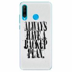 iSaprio Plastový kryt - Backup Plan - Huawei P30 Lite