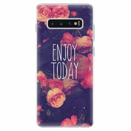 iSaprio Plastový kryt - Enjoy Today - Samsung Galaxy S10+