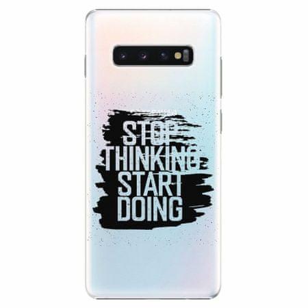 iSaprio Plastový kryt - Start Doing - black - Samsung Galaxy S10+