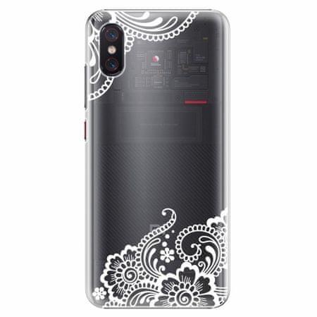 iSaprio Plastový kryt - White Lace 02 - Xiaomi Mi 8 Pro