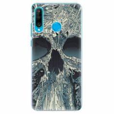 iSaprio Plastový kryt - Abstract Skull - Huawei P30 Lite