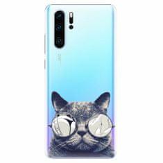 iSaprio Plastový kryt - Crazy Cat 01 - Huawei P30 Pro