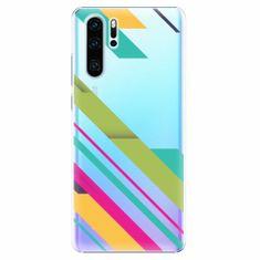 iSaprio Plastový kryt - Color Stripes 03 - Huawei P30 Pro