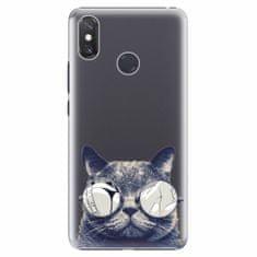 iSaprio Plastový kryt - Crazy Cat 01 - Xiaomi Mi Max 3