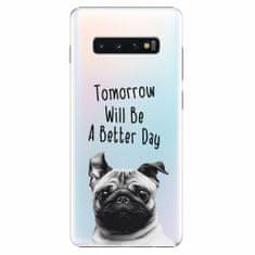 iSaprio Plastový kryt - Better Day 01 - Samsung Galaxy S10+