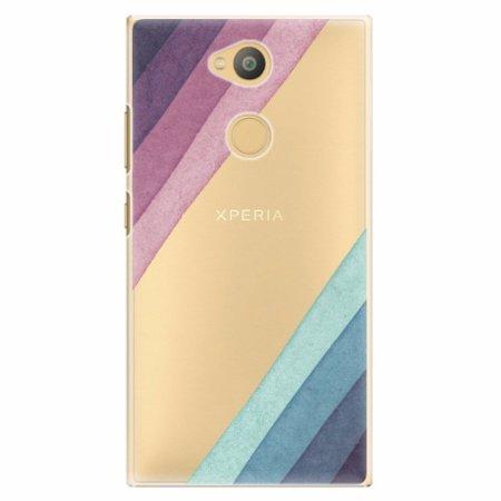 iSaprio Plastový kryt - Glitter Stripes 01 - Sony Xperia L2