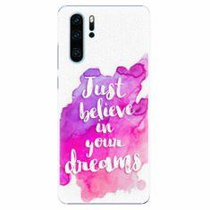 iSaprio Plastový kryt - Believe - Huawei P30 Pro