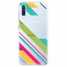 iSaprio Plastový kryt - Color Stripes 03 - Samsung Galaxy A50