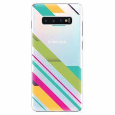 iSaprio Plastový kryt - Color Stripes 03 - Samsung Galaxy S10+