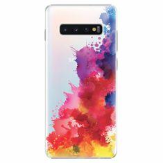 iSaprio Plastový kryt - Color Splash 01 - Samsung Galaxy S10+